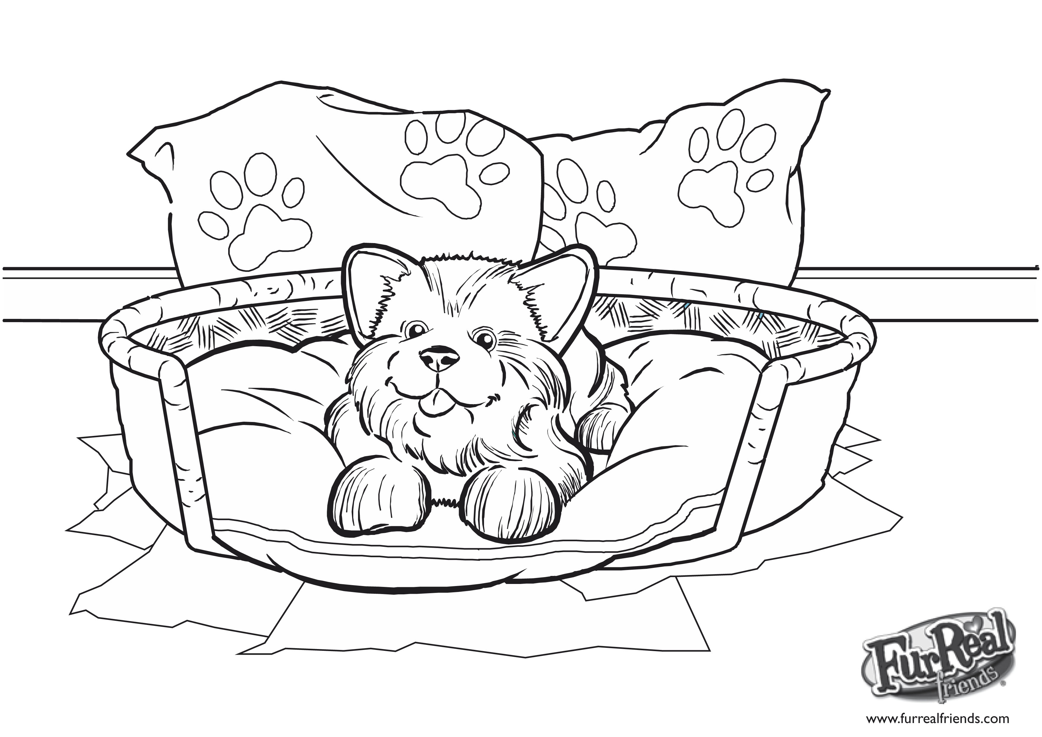 Free Coloring Pages Of Lego Friends Chien